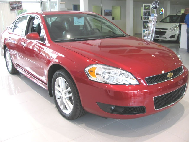 2013 Impala LTZ . . .