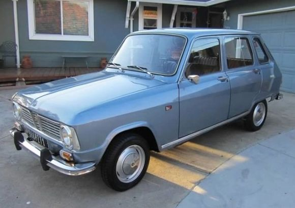 1969 Renault R6 For Sale in USA Front Blue