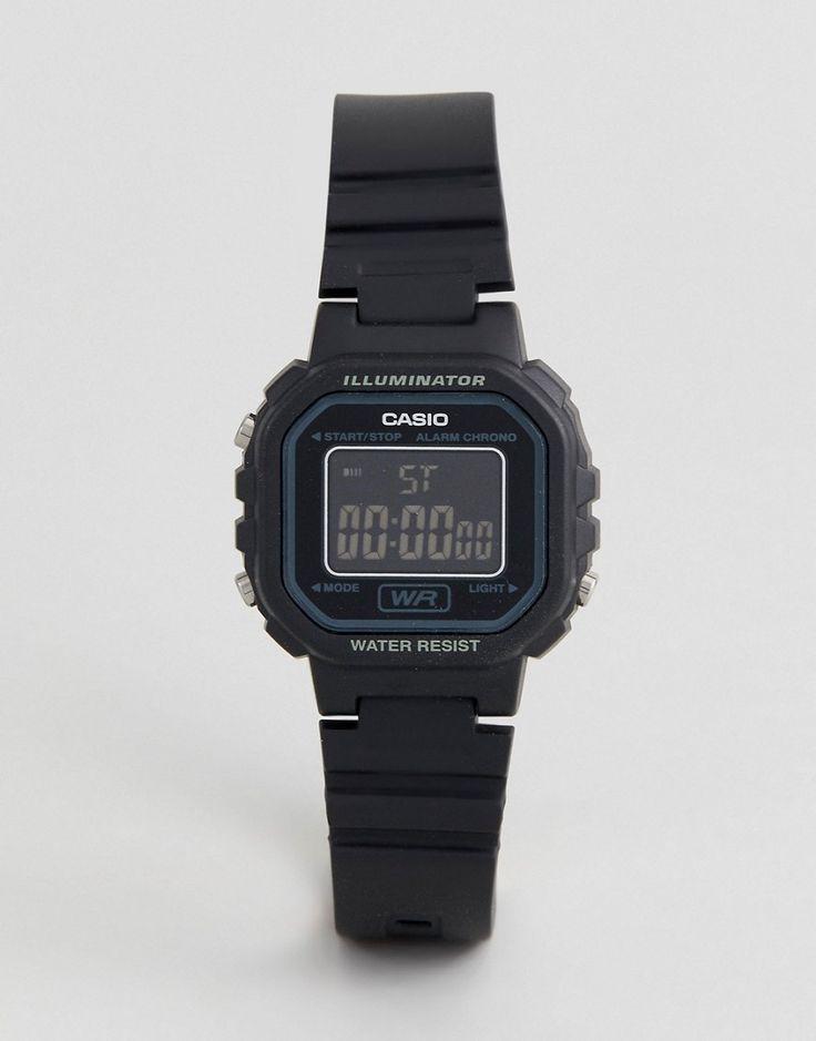 Casio Digital Watch In Black LA20WH-1B - Black