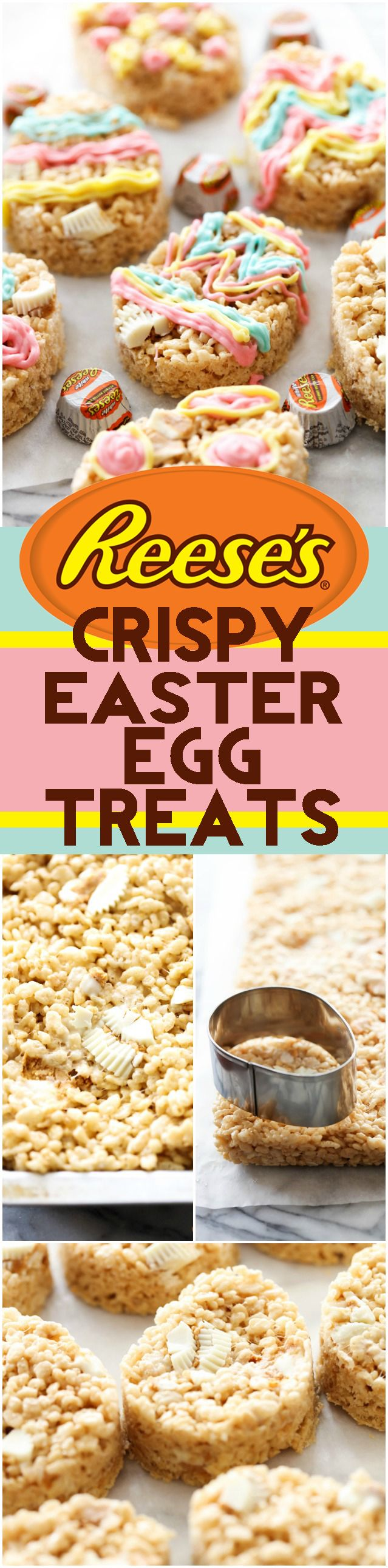 A delicious and easy treat that is fun for the whole family! Decorate the eggs however you want for a bright, colorful and perfect Easter treat!