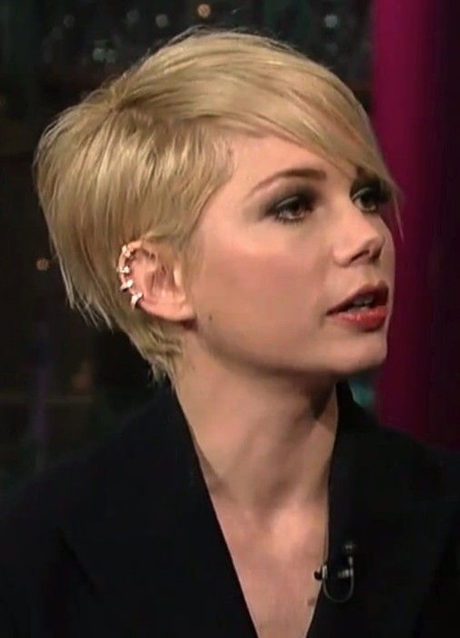 This is the one!!  Going to get it cut today!! 2014 Michelle Williams Short Hair Styles: Pixie Haircut