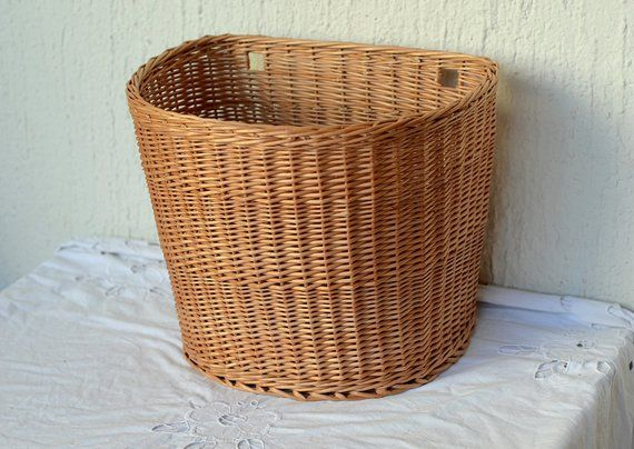 Wall Basket Hanging Basket Storage Wicker Basket Hanging Storage Mail Basket Entryway Decor Door Basket Wall Decor Wall Storage Basket