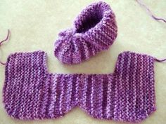 Funny baby booties -