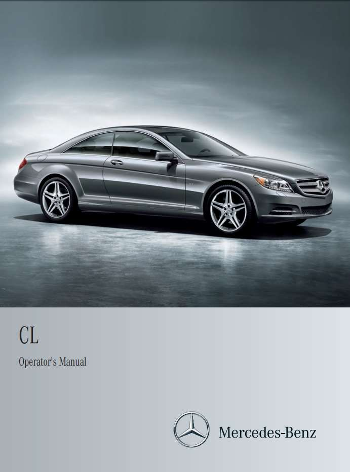Mercedes Benz Cl Class 2011 Owner S Manual Has Been Published On Procarmanuals Com Https Procarmanuals Com Mercedes Benz Mercedes Benz Cl Mercedes Benz Benz