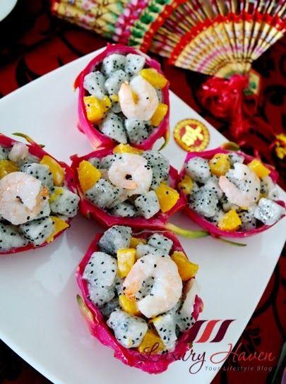 dragon fruit plant healthy fruit salad