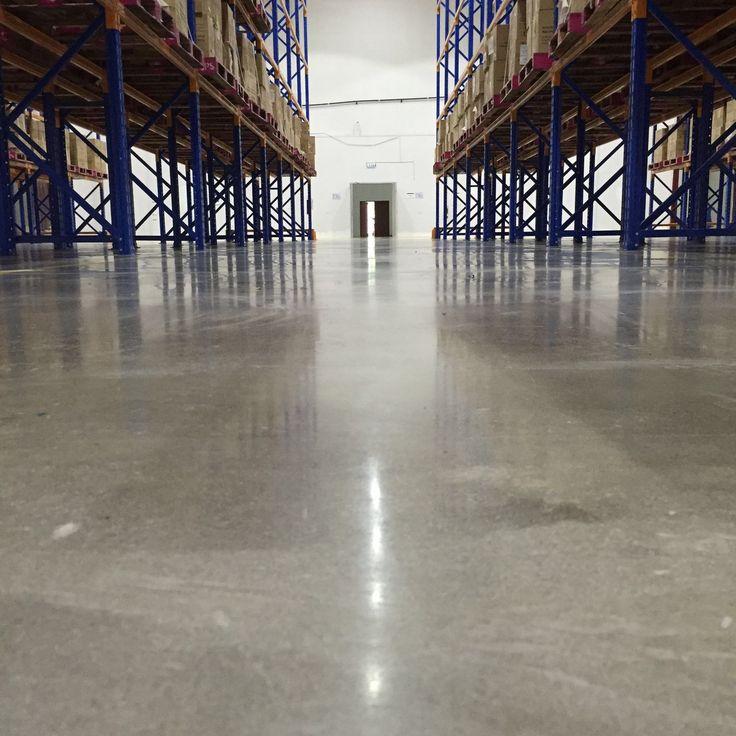 DB Schenker Floor Polished Concrete
