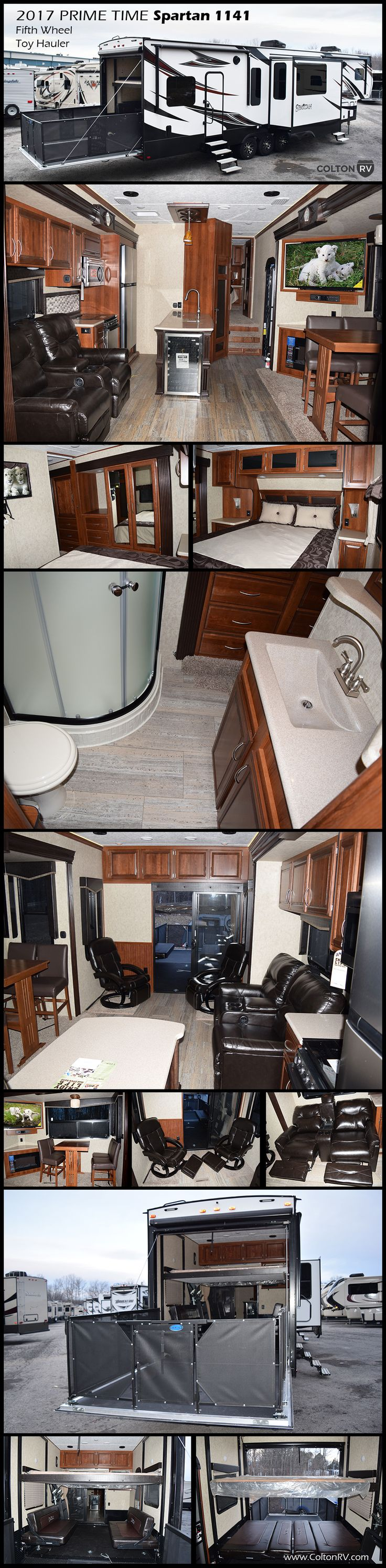 25 Best Ideas About Fifth Wheel Toy Haulers On Pinterest