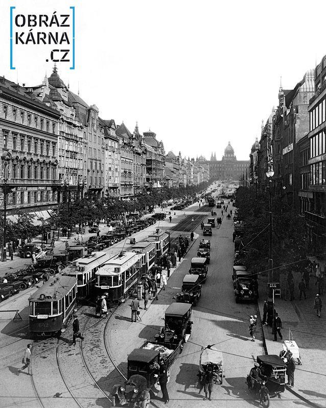 051 - Fotografie Staré Prahy