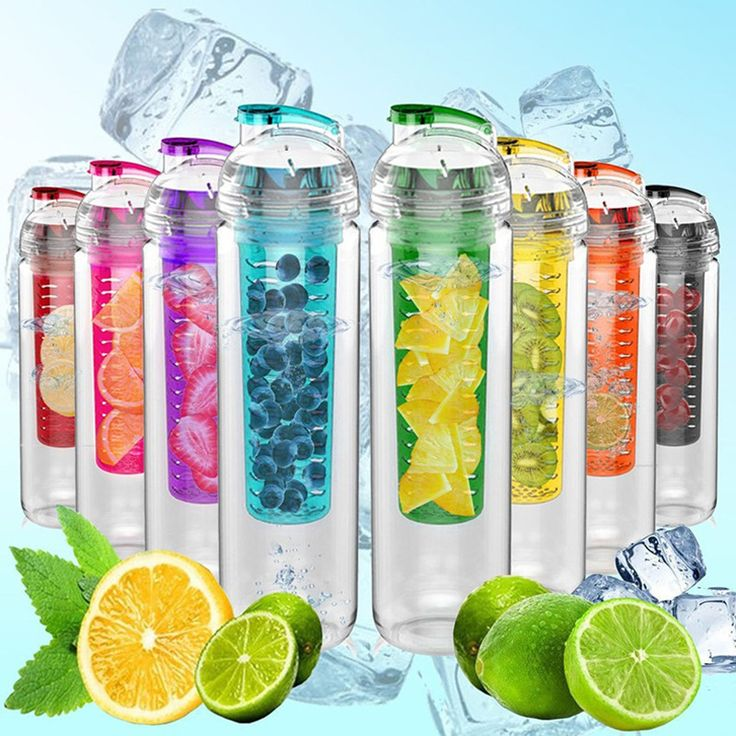 800ML Popular in Europe space cup creative drinking glass creative both men and women carry plastic fruit pulp cups