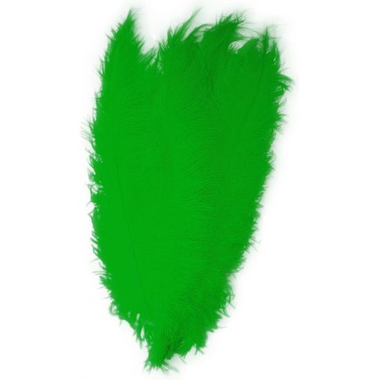 Groene spadonis sier veren  Groene spadonis sierveer of Pietenveren. Formaat ongeveer 50 cm. Deze sierveren zijn verkrijgbaar in meerdere kleuren.  EUR 3.95  Meer informatie