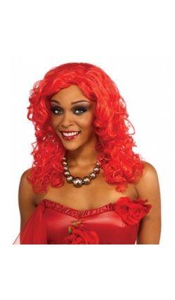 Perruque Rouge Rihanna