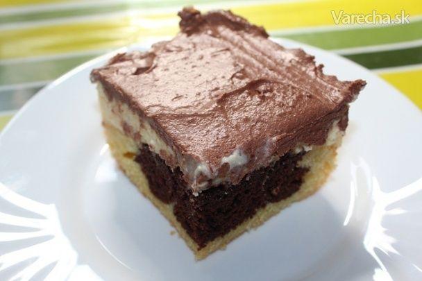 Tvarohový koláč s kyslou smotanou (fotorecept) - Recept