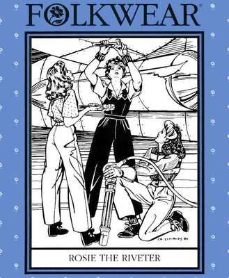 Image result for rosie the riveter folkwear sewing pattern 240- Bing images