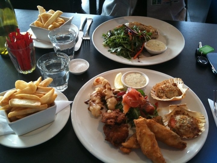 Seafood platter at Salt in Moonah