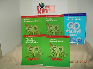 Go-Math-Workbook-Bundle-Grade-1-2011-Lot-of-6-6-3-3
