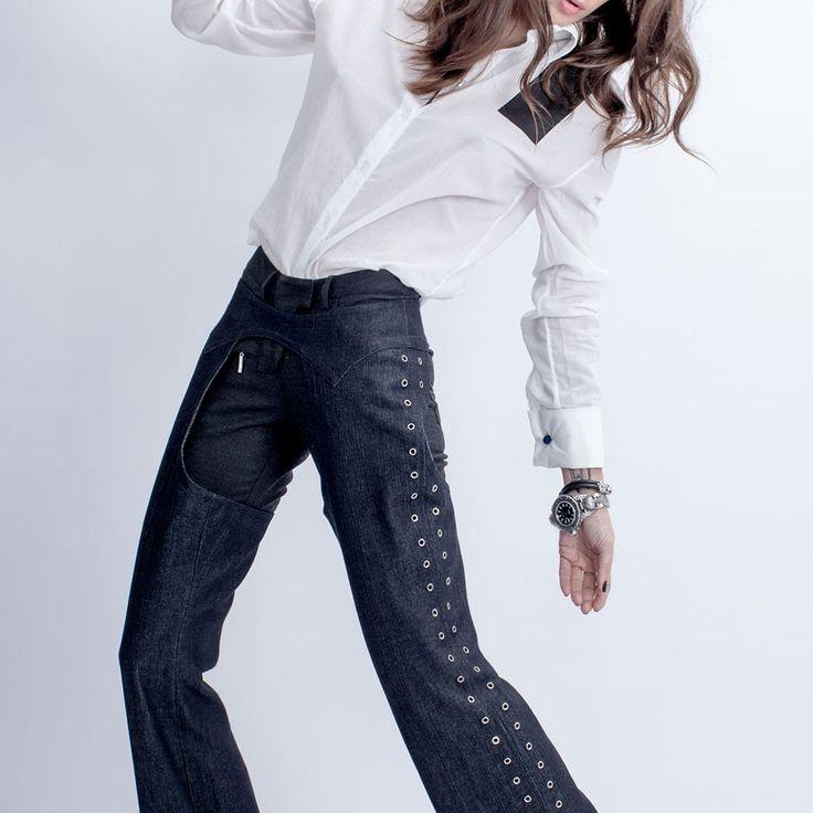 Та самая вещь, которую вряд ли кто-то наденет ™ Представляем наши первые чапсы, выполненные из джинс…