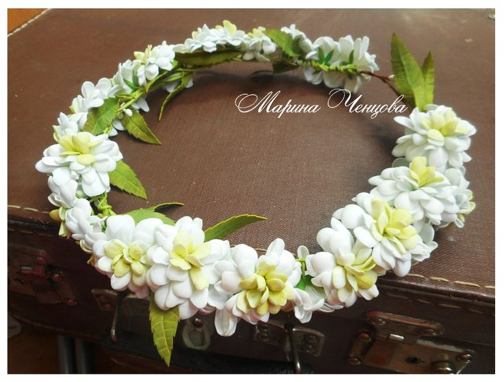 Цветы из фоамирана и глины Марины Ченцовой.