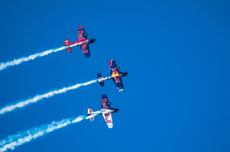 Flying Bulls Aerobatic Trio by Graziella Serra Art & Photo on 500px