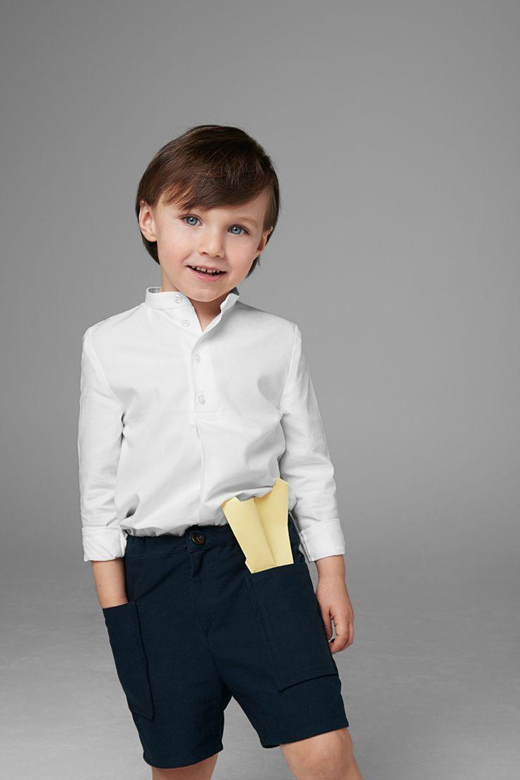 SS 17 Paper Plane Collection Minimal kids wear