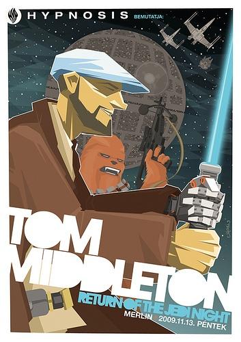 Tom Middleton flyer