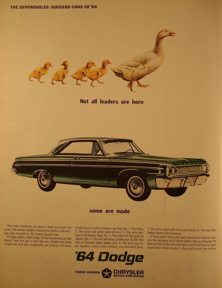 https://flic.kr/p/egWSBT | 1964 Dodge Chrysler Advertising Life Magazine March 20 1964 | 1964 Dodge Chrysler Advertising Life Magazine March 20 1964