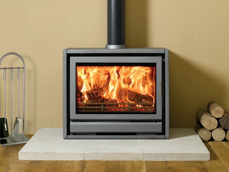 Wider Still Than The Stovax F66, The F76 Freestanding Stove Is A Wood  Burning Appliance  Free Standing Wood Burning Fireplaces