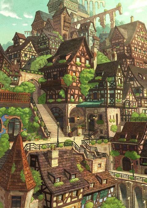 Elevated Verdant Village