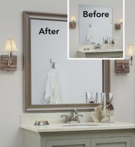 Ways To Decorate A Bathroom Mirror