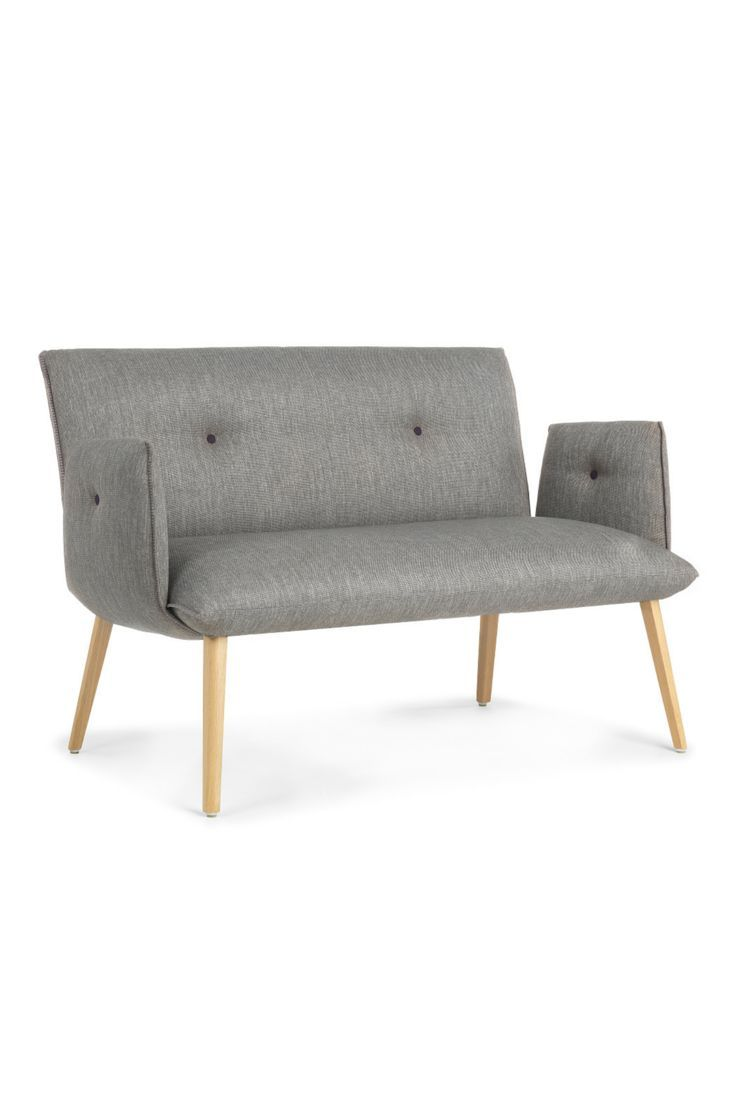 SODA DUO H40+A. Design Upholstered Low Bench By Belgian Furniture Brand  Mobitec.