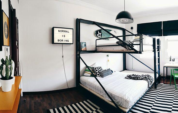 Passando rapidinho só pra mostrar esse incrível quarto de 2 adolescentes. Clique e leia na íntegra.