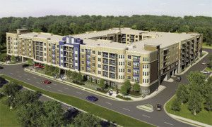 """Dubbed """"The Meridian,"""" the development that will officially break ground on Feb. 25 is to be the first large project to go up in a planned medical corridor envisioned for a several-mile stretch extending from St. Dominic Hospital on Lakeland Drive to the Medical Mall on Woodrow Wilson Avenue."""
