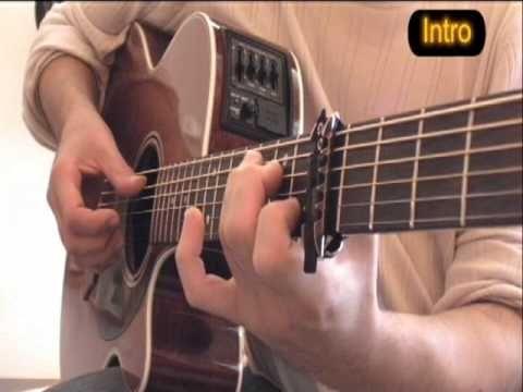 Je l'aime à mourir (Cabrel / Shakira) - Cours de guitare (UK Subtitles) - YouTube