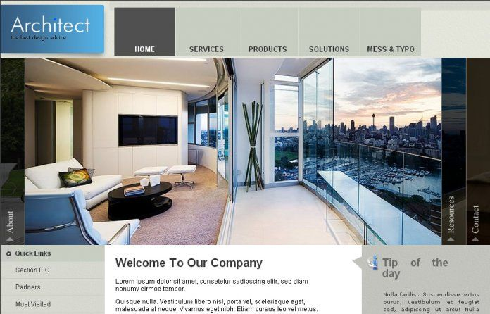 J-Architecture - Templates - cmsgadget.com - Free and Premium Wordpress Themes and Joomla Templates