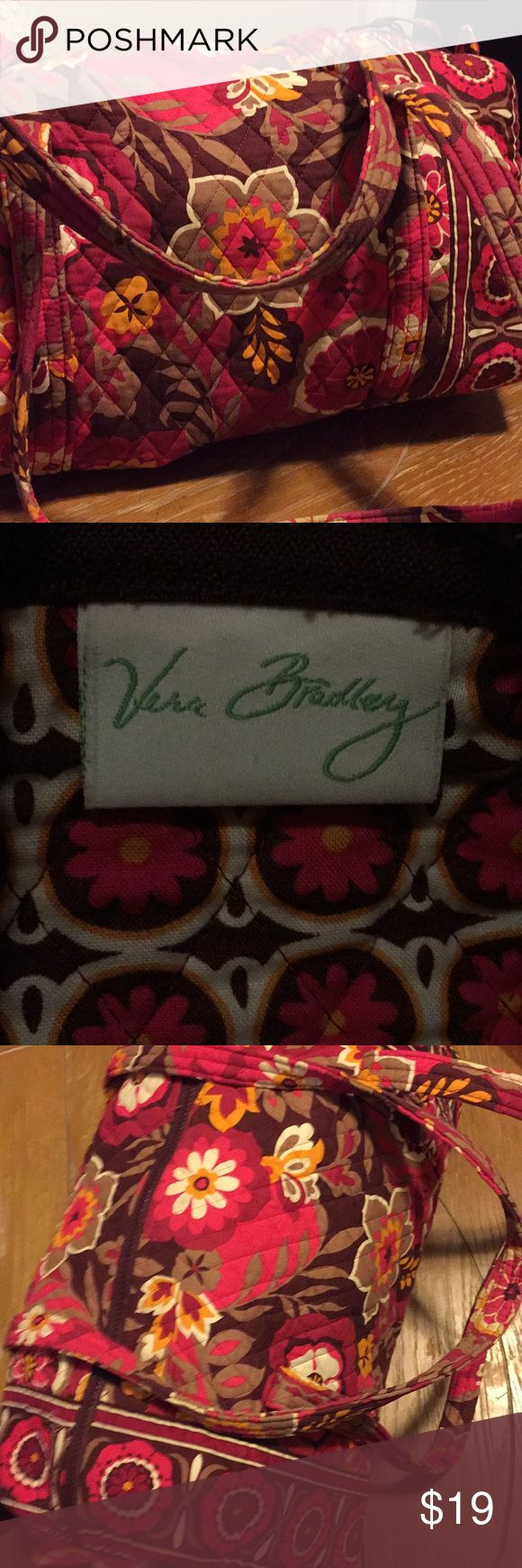 Small sized Vera Bradley duffel bag Super soft and durable Vera Bradley small sized duffel bag. Make an offer ✨ Vera Bradley Bags Travel Bags