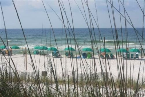 Our favorite place to stay when we go to Destin...Holiday Inn on the Beach...perfect with kids...the kid suites are awesome