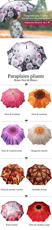 Vous cherchez un parapluie original? Trouvez alors votre parapluie selon votre fleur préférée. Parmi nos parapluies ils existent des motifs de tournesol, de roses, de pensées, d'orchidées, de marguerite et pleins d'autres. http://rosemarie-schulz.eu/fr/940-parapluies-par-fleurs