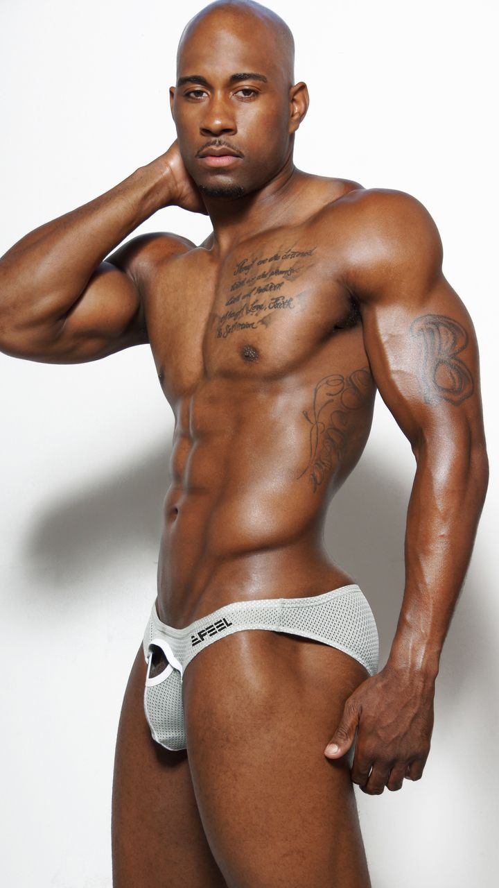 Hot black muscle men everything