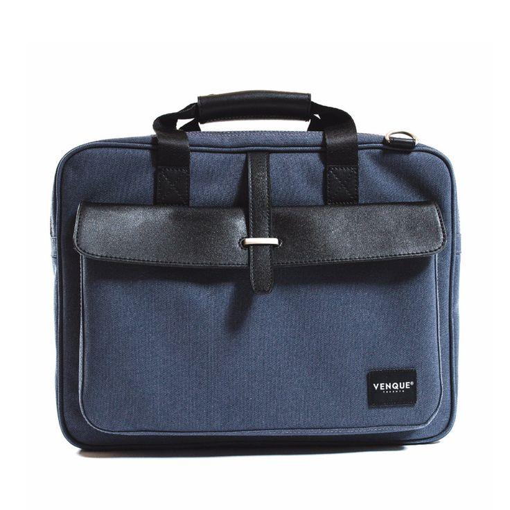 Aix Pro Briefcase Blue