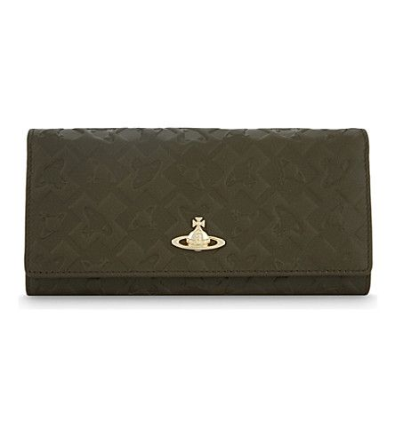 VIVIENNE WESTWOOD Harrow Leather Continental Wallet. #viviennewestwood #purses & pouches