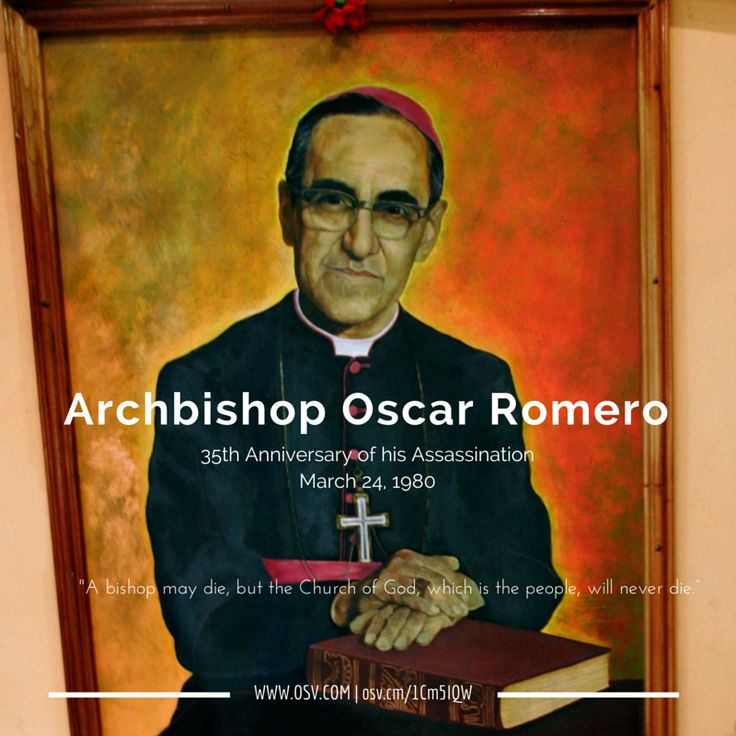 oscar romero and the role of Archbishop oscar romero symbolizes, for many salvadorans more than a decade after his death, the spirit of a struggle to liberate the poor and powerless from the repression of the privileged few who wield social, economic and political power in el salvador as archbishop, romero shifted the.