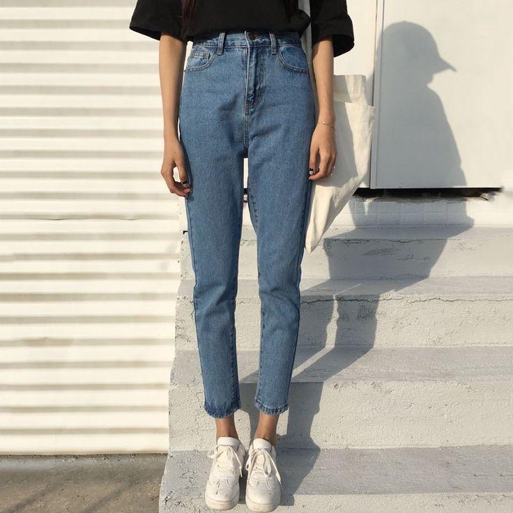 カジュアル無地 スキニーパンツズボンデニムパンツ - DWSTYLE レディースファッション激安通販|10代·20代·30代ファッション|海外人気ファッション激安購入