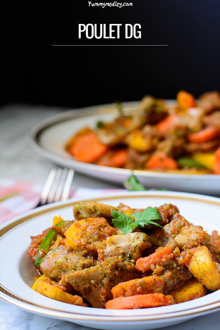 Poulet Dg Recipe Cameroon