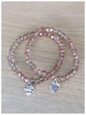 Best friends armbanden, armband set best friens voor jou en je vriendin door Lots4all op Etsy