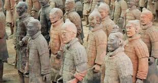 Exército de Terracota Xian- China