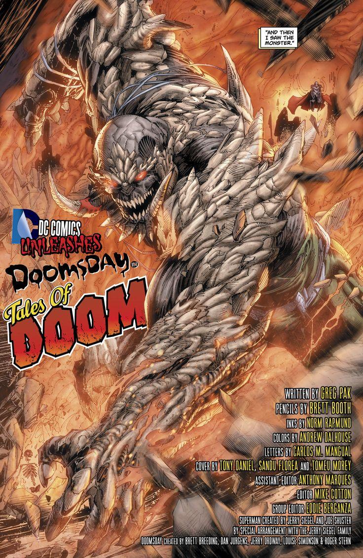 superman vs doomsday comic book | Batman / Superman #3.1: Doomsday #1 hits stands September 25, 2013.