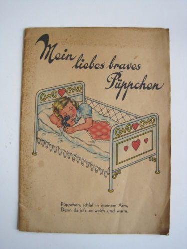 Mein-liebes-braves-Pueppchen-Kinderbuch-mit-Puppe-ca-1930-40-Bilderbuch