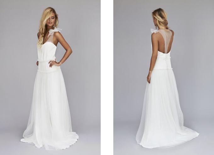 Robe de mariée Rime Arodaky - Lookbook 2013 - Modèle Lou