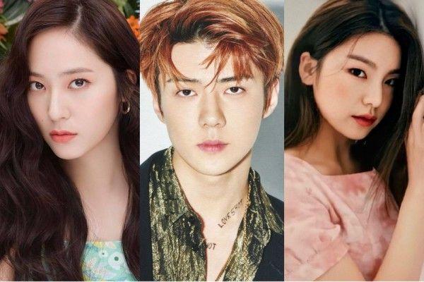 10 Idol Kpop Ini Cocok Perankan Tokoh Antagonis Di Kdrama Judes Abis Idol Entertainment Cocok