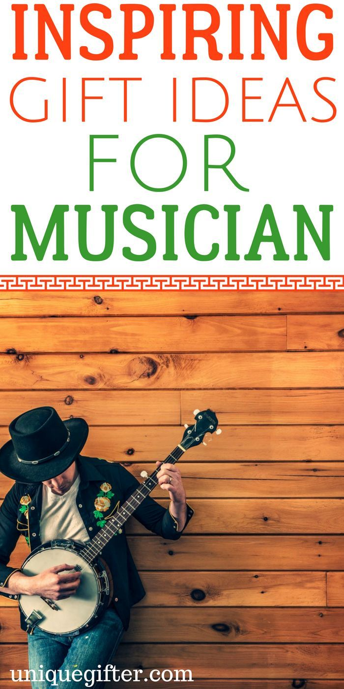20 Inspiring Gifts For Musicians Music Gifts Birthday Gifts For Girlfriend Musician Gifts