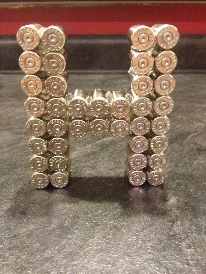 shotgun shell monogram